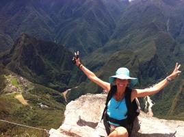 Yaduma Coaching on Macchu Pichu