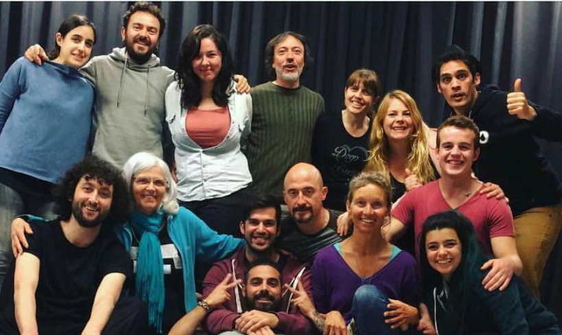 Improv workshop at Trampa Teatre